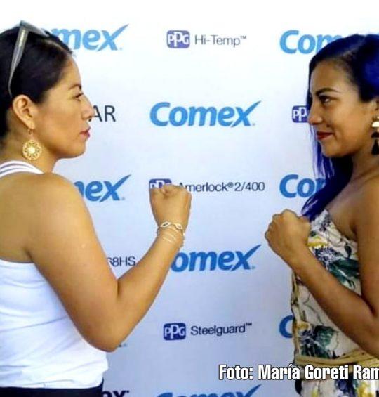 Busca boxeadora oaxaqueña el título del Campeonato Minimosca del Sureste Mexicano